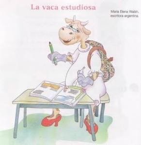 la-vaca-estudiosa